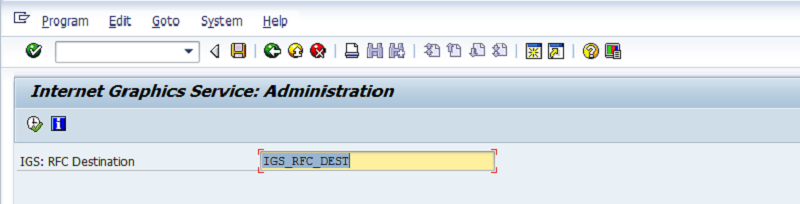 SAP IGS RFC