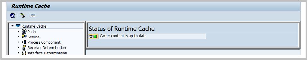 SXI_CACHE ABAP check