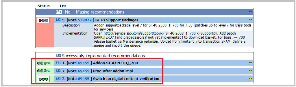 SAP RTCCTOOL after digital signatures