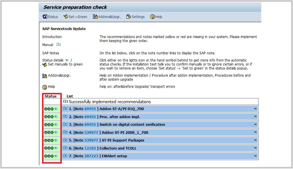 Install/Upgrade ST-PI and ST-A/PI SAP components  - SAP
