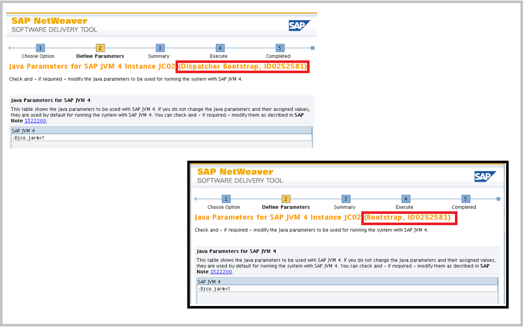 SAP Switch tool Screen 8