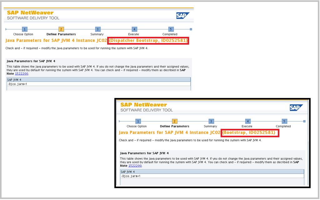 SAP Switch tool Screen 8