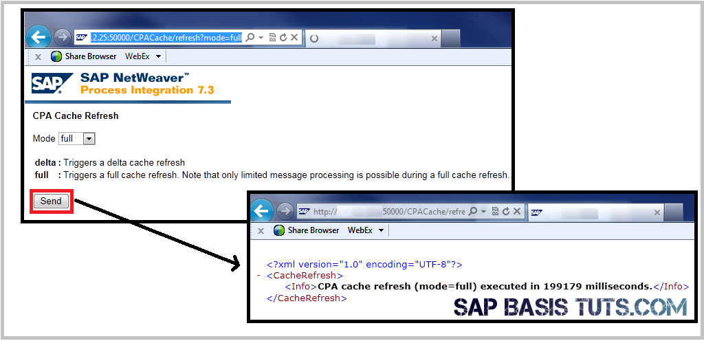 SAP PI CPA Cache Refresh