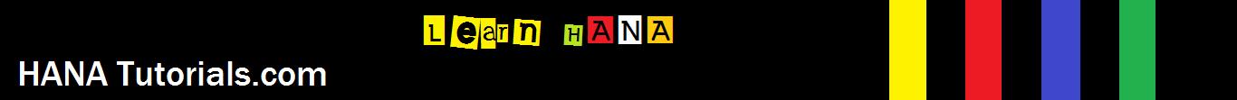 Learn HANA free